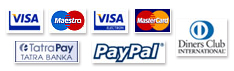 We accept payment via
